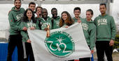 Athletics team wins 3rd place in the National University Championship of Cross-c