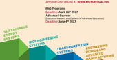 Applications for PhD Programs MIT Portugal 2017/18