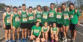 Athletes of NOVA University of Lisbon at the National University Championships