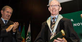 Andrew Livingston distinguished by NOVA with Honory Doctorate