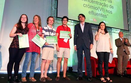 Sara Santos Pinheiro, aluna da Licenciatura em Bioquímica, participa no Swiss Ta