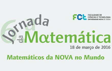 6.ª Jornada da Matemática FCT NOVA