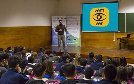 """""""Vem Ver"""" a FCT NOVA - Estudantes e Professores do Ensino Secundário visitam a F"""