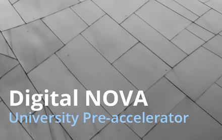 FCT NOVA promove o programa de pré-aceleração DIGITAL NOVA University Accelerato