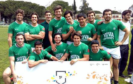 Equipa de Rugby Masculino da NOVA é a vencedora dos Campeonatos Nacionais Univer