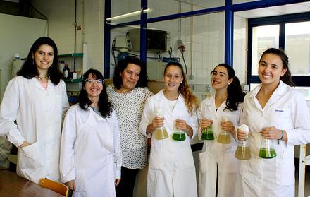 Ciência Viva na FCT NOVA ''Queres vir aprender a tratar águas residuais utiliza