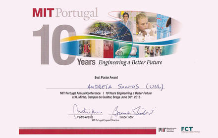 FCT NOVA student, MIT Portugal, wins prize in the field of Bioengineering
