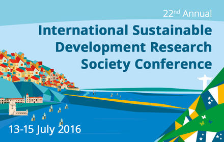 22.ª Conferência da International Sustainable Development Research Society - CEN