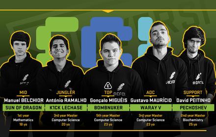 "FCT NOVA wins European Championship University of ""League of Legends"""