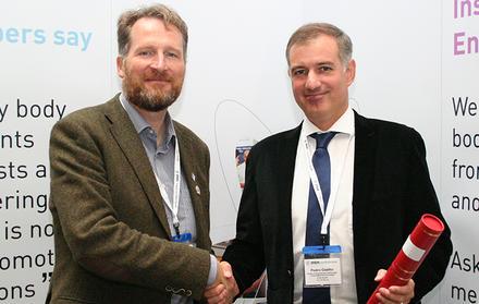 Pedro Coelho, Docente do DEMI e Investigador do UNIDEMI, recebe o Perkins' Prize