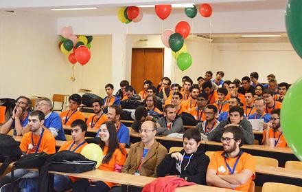 Maratona Inter-Universitária de Programação no Departamento de Informática da FC