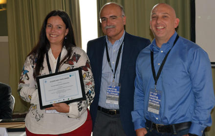 """Student Best Paper Award"" atribuído a Thais Baldissera, doutoranda do Programa"