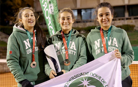 Equipa feminina de ténis sagra-se vice-campeã nacional de ténis por equipas