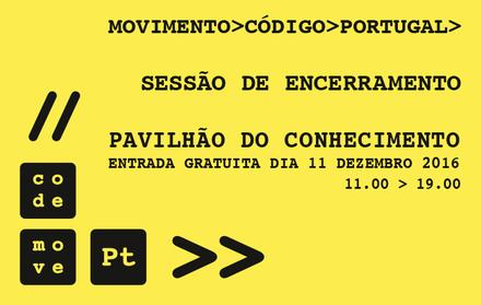 Do FCT Coding Fest ao Movimento Código Portugal – sessão de encerramento