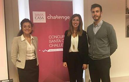 Cláudia Quaresma e Micaela Fonseca distinguidas com o Prémio Santa Casa Challeng