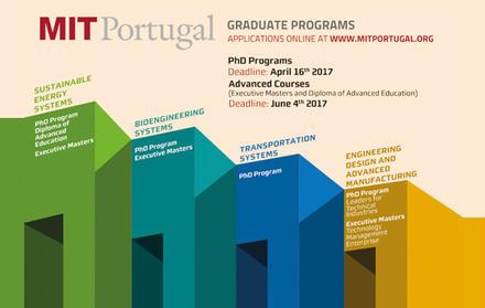 Candidaturas abertas ao Programa Doutoral MIT Portugal