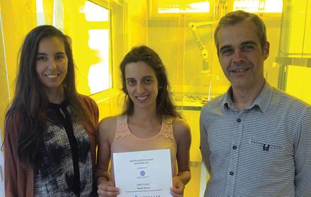 Investigadora do CENIMAT|i3N distinguida com prémio de melhor poster na conferên