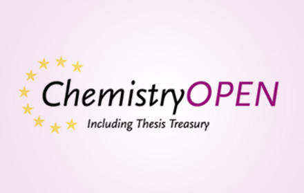 """Invitation regarding the special issue """"Chemistry Open"""", journal by Wiley"""