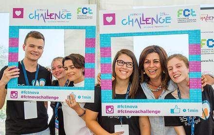 """Entrega de prémios do concurso """"FCT NOVA Challenge"""""""