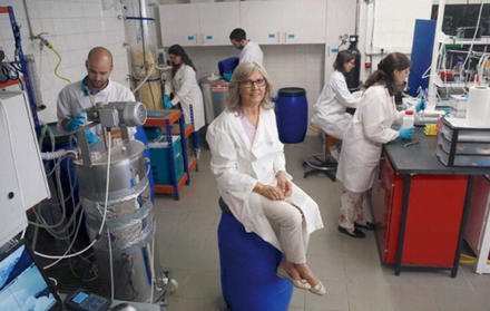 Maria Ascensão Reis leads the team of researchers that causes bacteria to