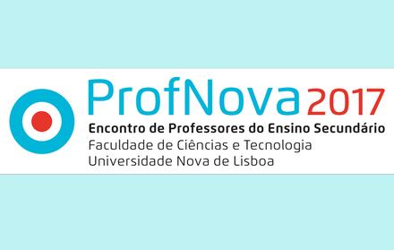 ProfNova2017 Encontro de Professores do Ensino Secundário na FCT NOVA