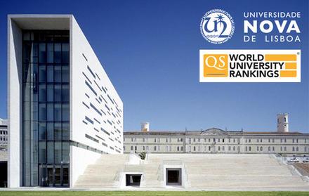 NOVA sobe no ranking mundial de Universidade QS