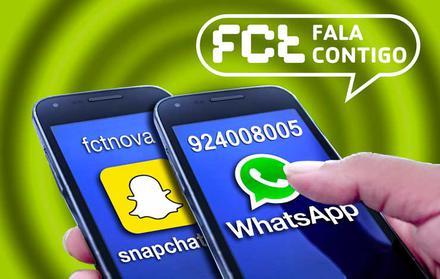 A FCT NOVA já tem WhatsApp e Snapchat!