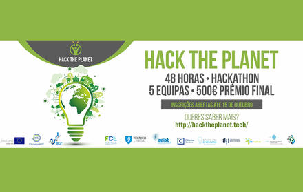 Hack The Planet 2017 - FCT NOVA dias 30 e 31 de Outubro