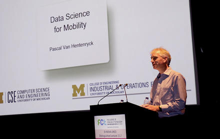 "Distinguished Lecture ""Data Science for Mobility"""