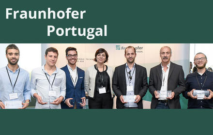 FCT NOVA students conquer 1st and 3rd prizes Fraunhofer Portugal Challenge 2017