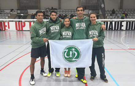 NOVA Sport runner-up in the National Badminton University Championship