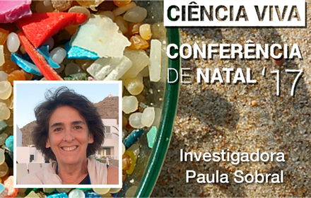 "Professora Paula Sobral na Conferência de Natal ""Ciência Viva"" 2017"