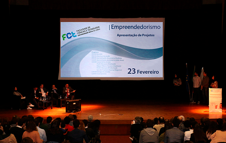"""Sessão de apresentação final dos projectos de """"Empreendorismo"""""""
