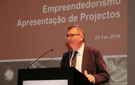"""Apresentação final dos projectos da Unidade curricular """"Empreendedorismo"""""""
