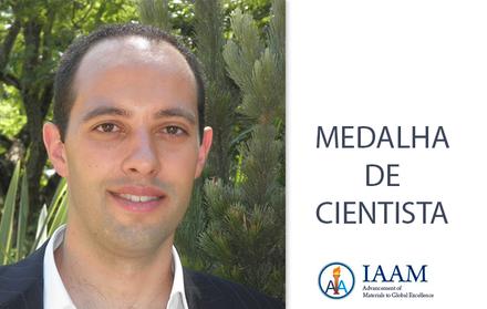 CENIMAT-i3N researcher receives IAAM Scientist Medal