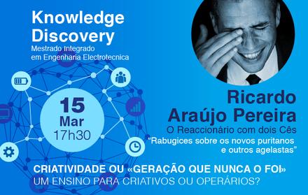 Ricardo Araújo Pereira na FCT NOVA