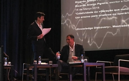 Debate com Ricardo Araújo Pereira na FCT NOVA