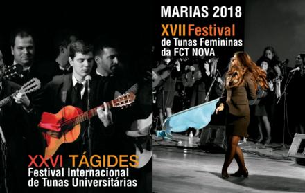 XXVI Tágides e XVII Marias - Os maiores festivais de Tunas são na FCT NOVA