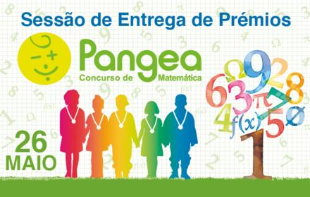 Cerimónia de entrega de prémios do Concurso de Matemática Pangea – Portugal (Zon