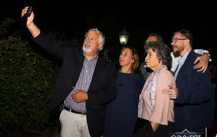 Selfie de Docentes na Gala FCT NOVA
