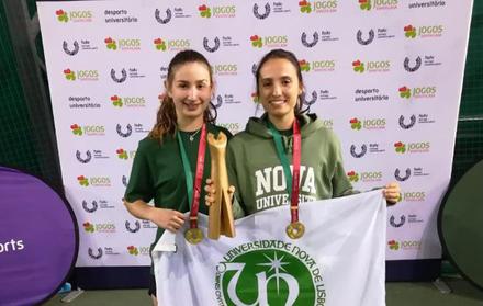 Equipa feminina de ténis conquista ouro pelo segundo ano consecutivo