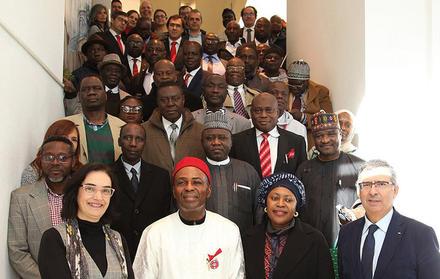 Delegação NIgeriana no CENIMAT