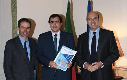 Ricardo Jardim Gonçalves com os Minsitros