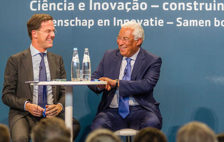 PM Mark Rutte e António Costa