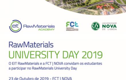 Raw Materials University Day 2019