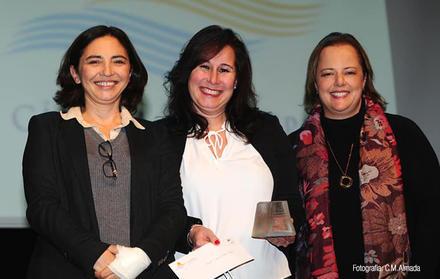 Inês de Medeiros, Raquel Viveiros and Teresa Casimiro