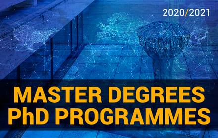 Master Degrees and PhD Programmes 20/21