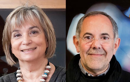 Isabel Moura e José Moura Membros da Academia das Ciências de Lisboa