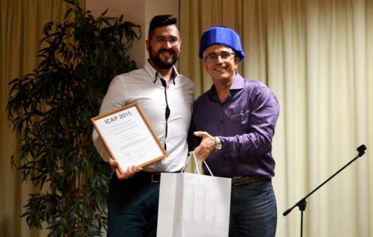 Member of Bioscope Research Group internationally awarded