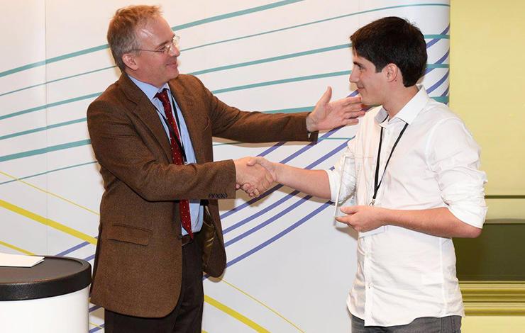 Bruno Ribeiro, Engenharia Biomédica da FCT, ganha Prémio Fraunhofer Portugal Cha